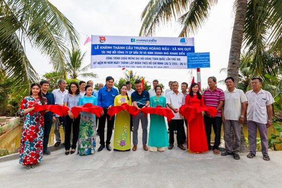 Khang Điền trao tặng 2 cây cầu nông thôn tại tỉnh Tiền Giang  ảnh 1