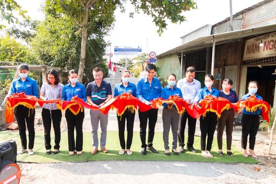 Khang Điền trao tặng 2 cây cầu nông thôn tại tỉnh Tiền Giang  ảnh 2