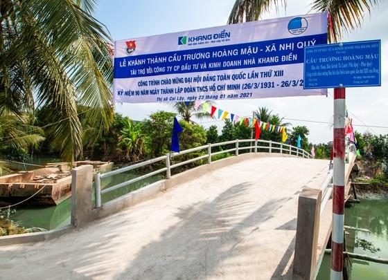 Khang Điền trao tặng 2 cây cầu nông thôn tại tỉnh Tiền Giang  ảnh 3