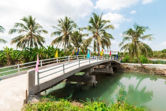 Khang Điền trao tặng 2 cây cầu nông thôn tại tỉnh Tiền Giang  ảnh 4