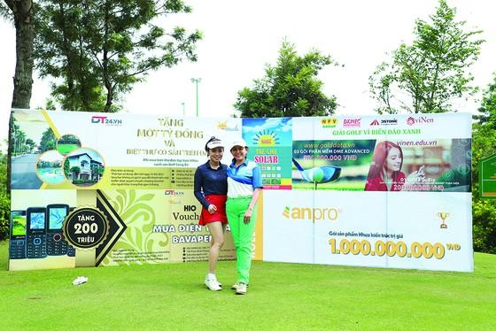 Giải golf từ thiện: Gần 300 triệu đồng ủng hộ chương trình 'Vì Biển đảo Xanh Tổ quốc' ảnh 1