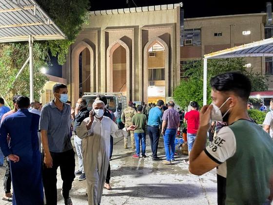 Hỏa hoạn nghiêm trọng tại bệnh viện ở thủ đô Iraq, ít nhất 27 người thiệt mạng ảnh 2