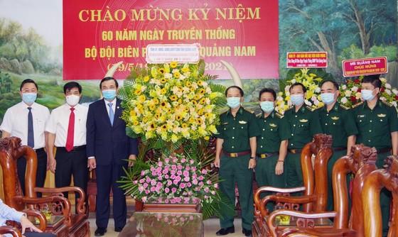 Lãnh đạo tỉnh Quảng Nam thăm, chúc mừng BĐBP tỉnh nhân kỷ niệm 60 năm Ngày truyền thống BĐBP tỉnh ảnh 1