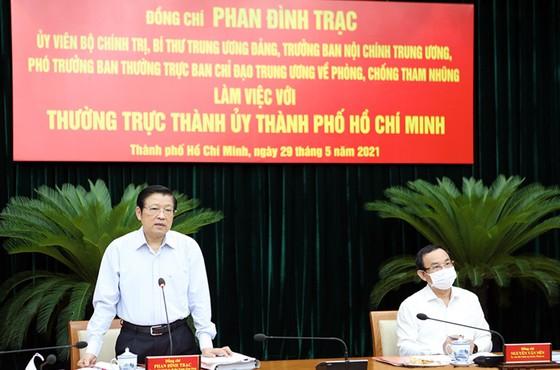 Trưởng Ban Nội chính Trung ương Phan Đình Trạc: TPHCM cần đẩy nhanh xử lý một số sai phạm  ảnh 1