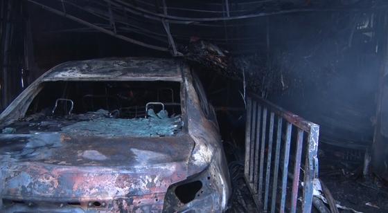 Đồng Nai: Cháy cửa hàng phụ tùng ô tô tại huyện Thống Nhất ảnh 1