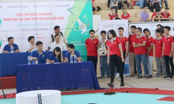 Cuộc thi sáng tạo robot dành cho học sinh trung học phổ thông Đà Nẵng mở rộng ảnh 1