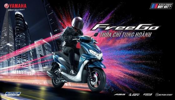 """Công ty Yamaha Motor Việt Nam chính thức giới thiệu mẫu xe tay ga FreeGo 125cc với thông điệp """"Thỏa chí tung hoành"""". ảnh 1"""