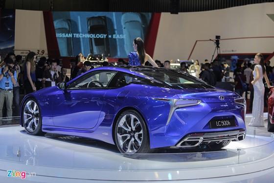 Lexus LC 500h: Coupe hang sang cho dai gia Viet hinh anh 7