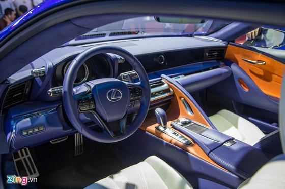 Lexus LC 500h: Coupe hang sang cho dai gia Viet hinh anh 2