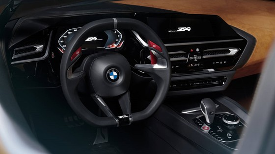 BMW Concept Z4 Roadster chinh thuc xuat hien hinh anh 6
