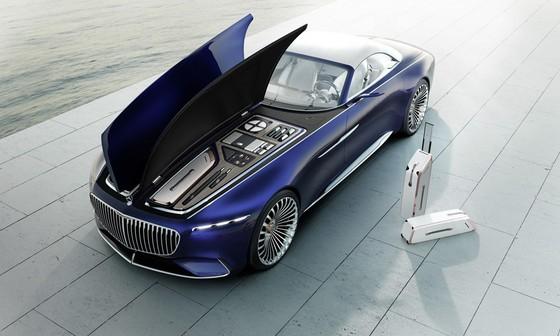 Maybach 6 Cabriolet concept - xe mui tran hang sang moi cua Mercedes hinh anh 2