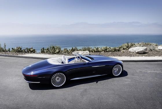 Maybach 6 Cabriolet concept - xe mui tran hang sang moi cua Mercedes hinh anh 6