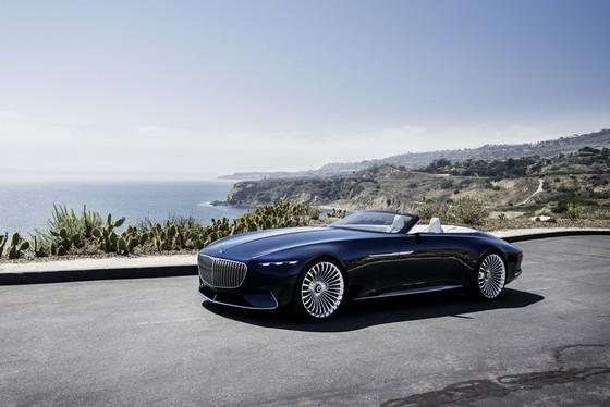Maybach 6 Cabriolet concept - xe mui tran hang sang moi cua Mercedes hinh anh 7