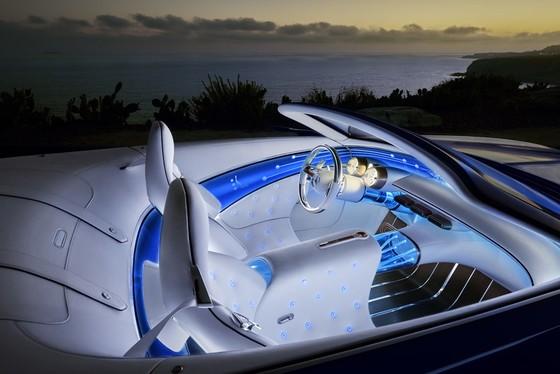 Maybach 6 Cabriolet concept - xe mui tran hang sang moi cua Mercedes hinh anh 5