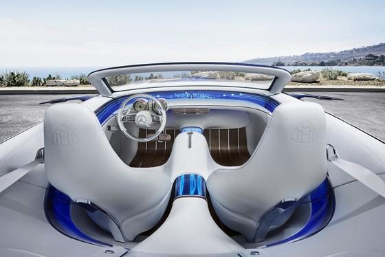 Maybach 6 Cabriolet concept - xe mui tran hang sang moi cua Mercedes hinh anh 4