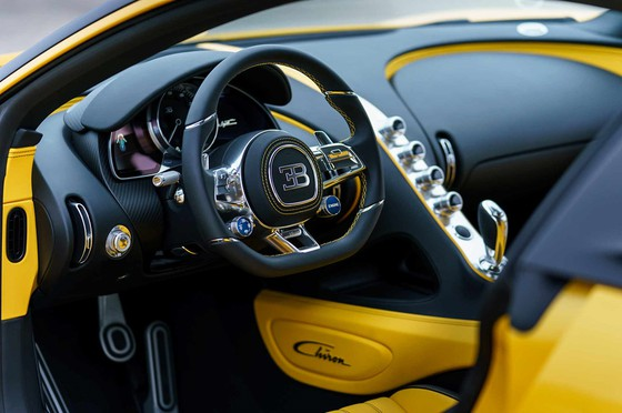 Bugatti Chiron dau tien den tay dai gia My hinh anh 3