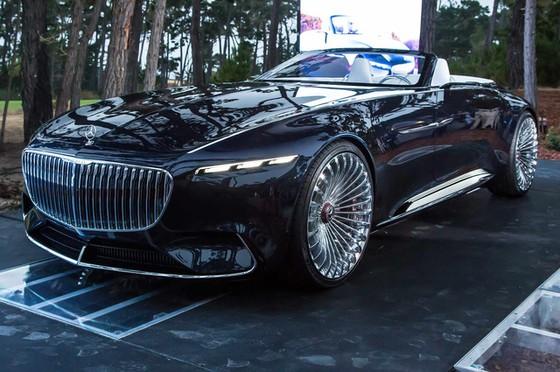 Chiêm ngưỡng vẻ đẹp xuất sắc của Vision Mercedes-Maybach 6 Cabriolet ngoài đời thực - Ảnh 13.