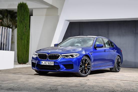 BMW trình làng sedan hiệu suất cao M5 2018 ảnh 15