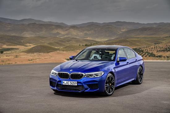 BMW trình làng sedan hiệu suất cao M5 2018 ảnh 4