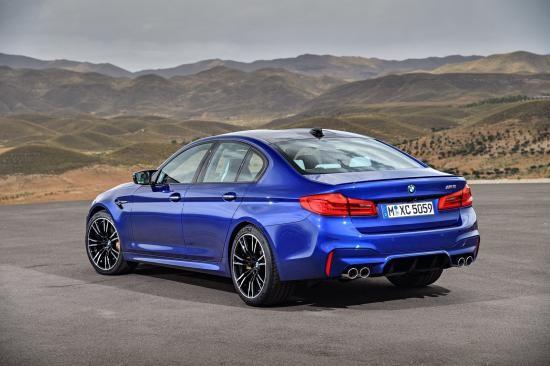 BMW trình làng sedan hiệu suất cao M5 2018 ảnh 5