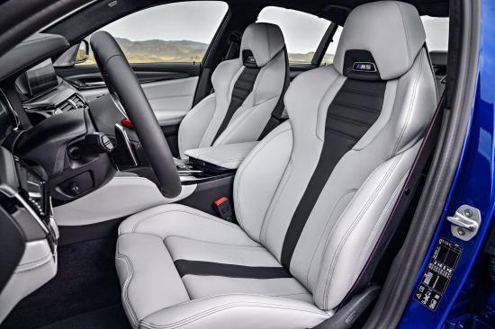 BMW trình làng sedan hiệu suất cao M5 2018 ảnh 8