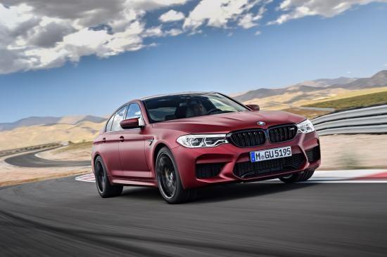 BMW trình làng sedan hiệu suất cao M5 2018 ảnh 2