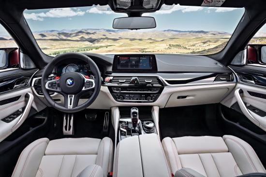 BMW trình làng sedan hiệu suất cao M5 2018 ảnh 7