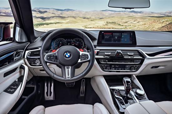 BMW trình làng sedan hiệu suất cao M5 2018 ảnh 46