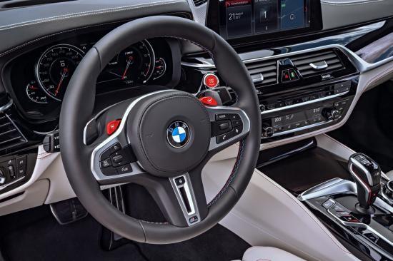 BMW trình làng sedan hiệu suất cao M5 2018 ảnh 45