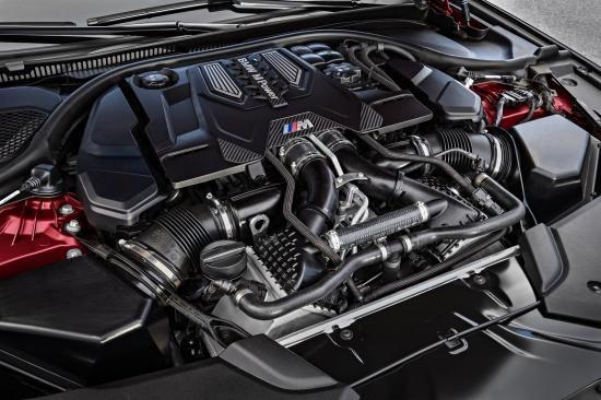 BMW trình làng sedan hiệu suất cao M5 2018 ảnh 1