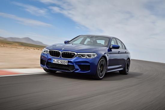 BMW trình làng sedan hiệu suất cao M5 2018 ảnh 19