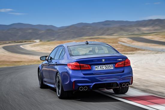 BMW trình làng sedan hiệu suất cao M5 2018 ảnh 18
