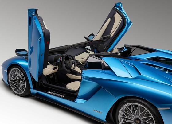 Lamborghini Aventador S Roadster - tuyet pham mui tran hinh anh 5