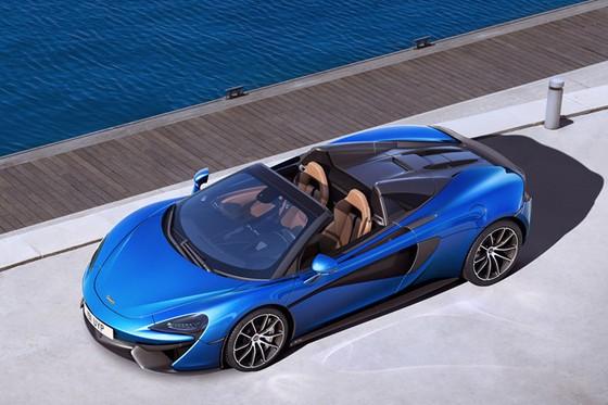 McLaren trinh lang 2 sieu pham Spider 570S va 720S hinh anh 3
