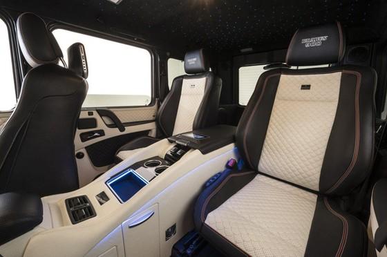Brabus G65 - Xe off-road mạnh nhất thế giới, giá lên đến 18,16 tỷ Đồng - Ảnh 8.
