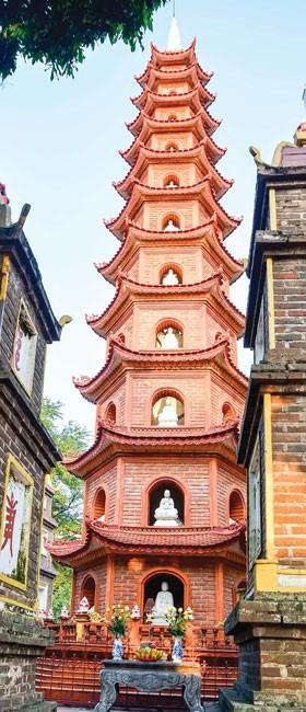 Vườn tháp bên Hồ Tây ảnh 2