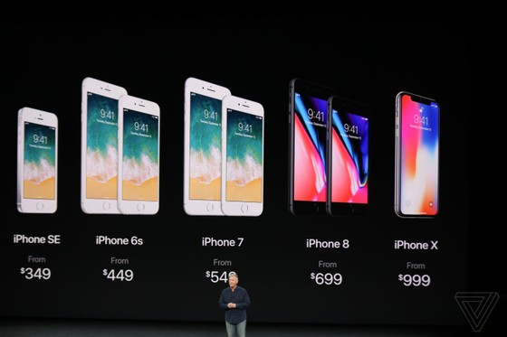 iPhone 8/8 Plus và iPhone X chính thức được ra mắt ảnh 5