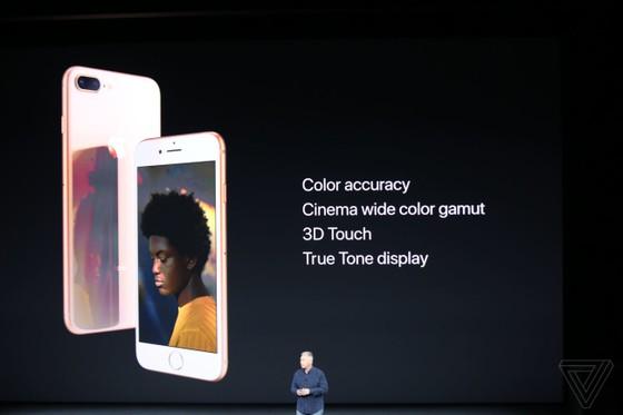 iPhone 8/8 Plus và iPhone X chính thức được ra mắt ảnh 55