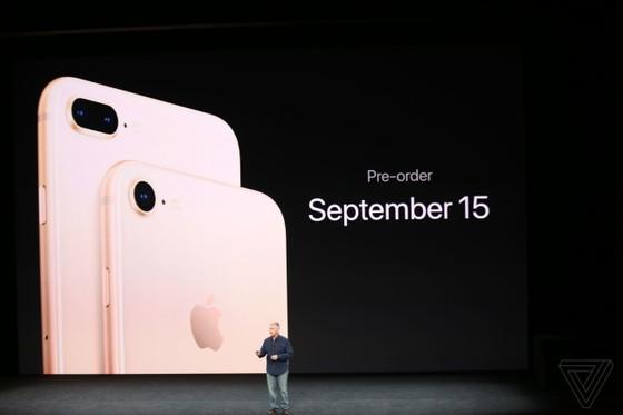 iPhone 8/8 Plus và iPhone X chính thức được ra mắt ảnh 40