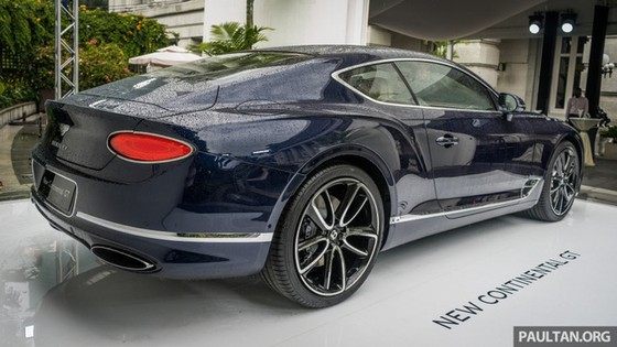 Coupe hạng sang Bentley Continental GT 2018 hăm hở ra mắt nhà giàu Đông Nam Á - Ảnh 5.