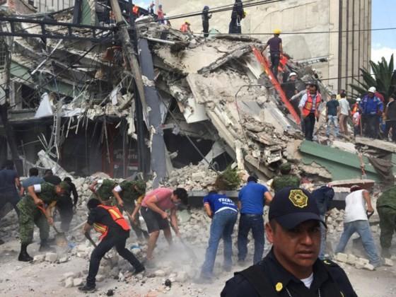 Mexico: Động đất 7,1 độ Richter, ít nhất 149 người thiệt mạng ảnh 4