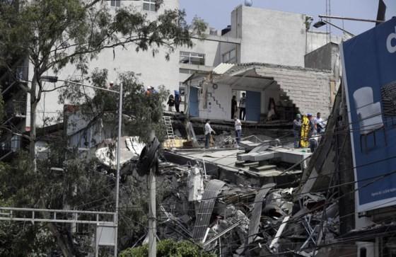 Mexico: Động đất 7,1 độ Richter, ít nhất 149 người thiệt mạng ảnh 6