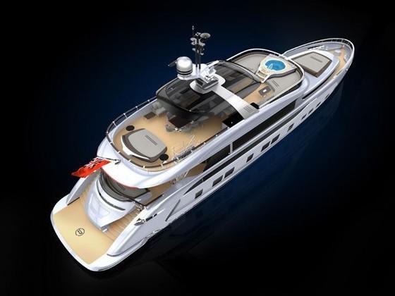 Cận cảnh siêu du thuyền mới hạ thủy trị giá 380 tỷ Đồng của Porsche - Ảnh 7.