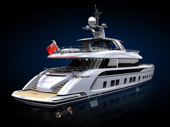 Cận cảnh siêu du thuyền mới hạ thủy trị giá 380 tỷ Đồng của Porsche - Ảnh 11.