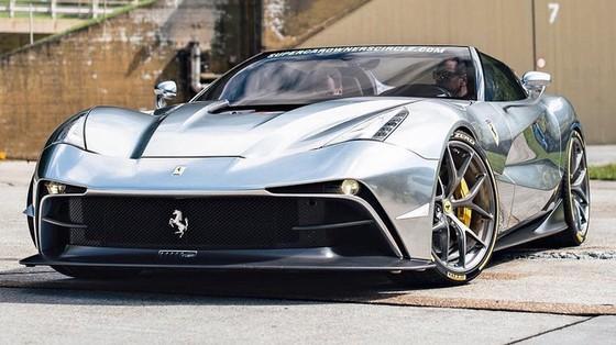 Bất ngờ bắt gặp siêu phẩm Ferrari F12 TRS thứ hai trên toàn thế giới