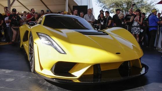Hennessey Venom F5 trình làng, giới hạn 24 chiếc, giá bán 1,6 triệu USD