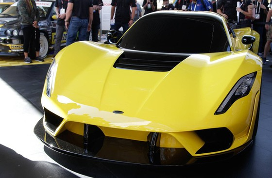 Hennessey Venom F5 trình làng, giới hạn 24 chiếc, giá bán 1,6 triệu USD - Ảnh 2.