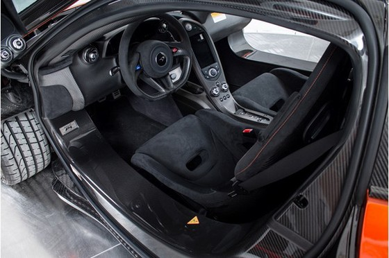 Siêu xe McLaren P1 lăn bánh ít nhất thế giới có giá 2,4 triệu USD - Ảnh 6.