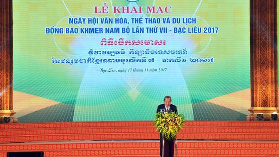 Tưng bừng ngày hội văn hóa Khmer Nam bộ - Ảnh 1.