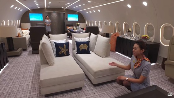 Ben trong Boeing 787 Dreamliner tri gia 300 trieu USD hinh anh 4